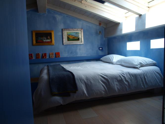 Camera azzurra - Camera da letto azzurra ...